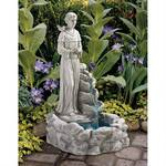 New Nature's Blessed Prayer St. Francis Sculptural Fountain Retail 285.00