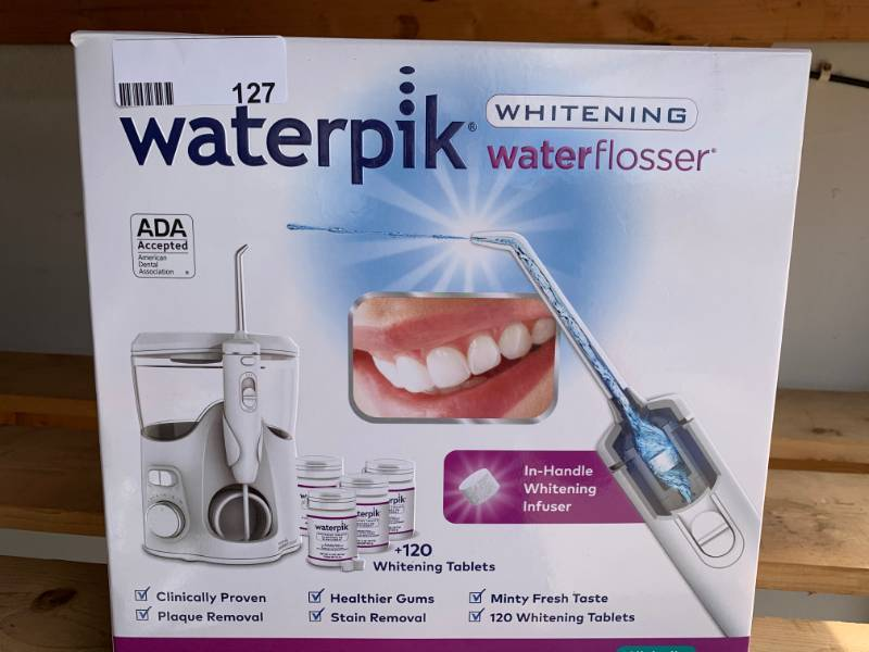 WATERPIK WHITENING WATERFLOSSER