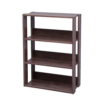 IRIS ETAGERE BOOKCASE BROWN