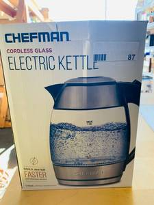 CHEFMAN KETTLE GLASS