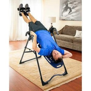 TEETER INVERSION TABLE retail $299.00 (this item has reserve)
