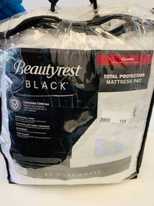 BEAUTYREST BLACK QUEEN PROTECTION MATTRESS PAD