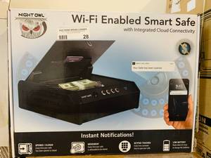 Night Owl Wifi Enabled Smart Safe
