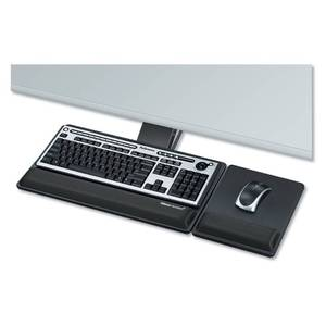 "Fellowes Designer Suites 21.75"" Track Premium Keyboard Tray"