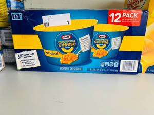 KRAFT MAC N CHEESE  (FULL)