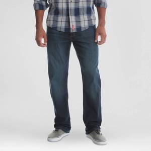 Wrangler Men's Relaxed Fit Jeans with Flex - Marine 34x30