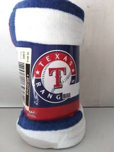 TEXAS RANGERS THROW