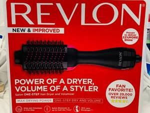 REVLON SALON ONESTEP HAIR DRYER & VOLUMIZER